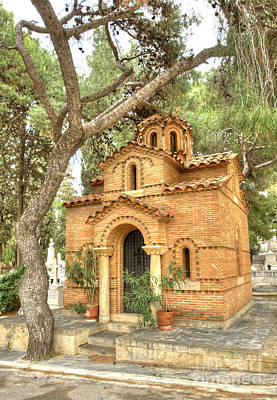 Photograph - Proto Nekrotafeio Athens 3 by Deborah Smolinske