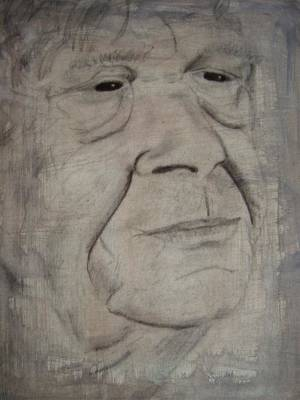 Portrait Study Mixed Media - Proud And Wise by Catherine Ali