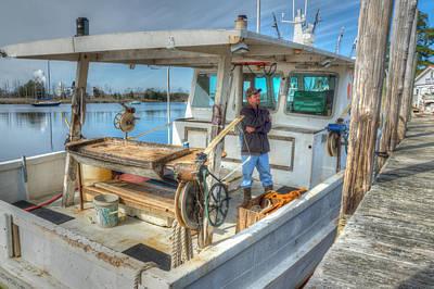 Proud Fisherman Art Print