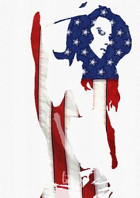 Proud Girl Art Print by Steve K
