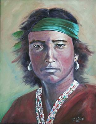 Painting - Proud Navajo by Catherine Link