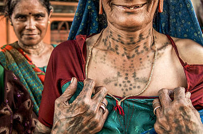 Photograph - Proud Of Her Tattoos by Valerie Rosen
