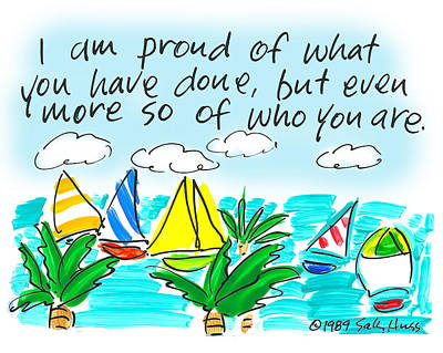 Wall Art - Painting - Proud by Sally Huss