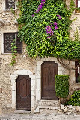 Photograph - Provencal Doors by Brian Jannsen