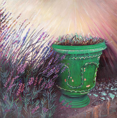 Painting - Provencal Garden II by Helen White
