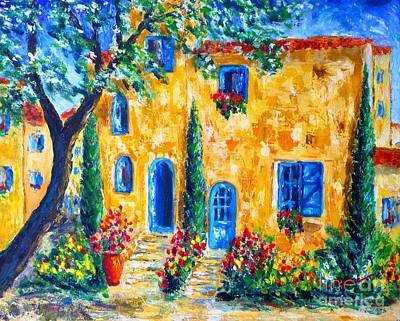 Beautiful Painting - Provence ... Toujours by Cristina Stefan