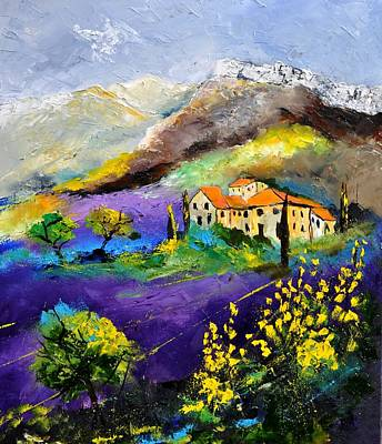 Whimsical Flowers - Provence 783190 by Pol Ledent