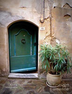 Provence Door 72 Art Print