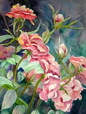 Painting - Provence Roses by Becky Taylor