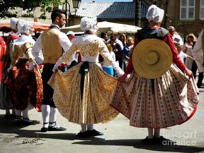 Provence Traditional Dance Art Print