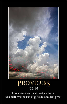 Digital Art - Proverbs 25 by John Haldane