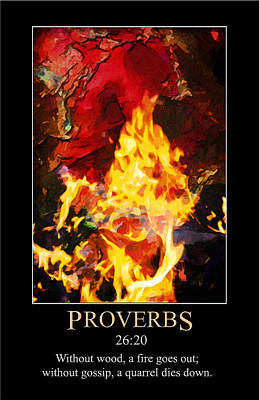 Digital Art - Proverbs 26 by John Haldane