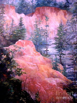 Painting - Providence Canyon - 3 by Gretchen Allen