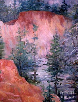 Painting - Providence Canyon 4 by Gretchen Allen