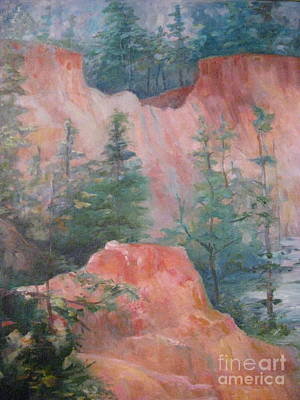 Painting - Providence Canyon 5 by Gretchen Allen