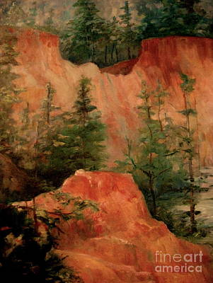 Painting - Providence Canyon 6 by Gretchen Allen