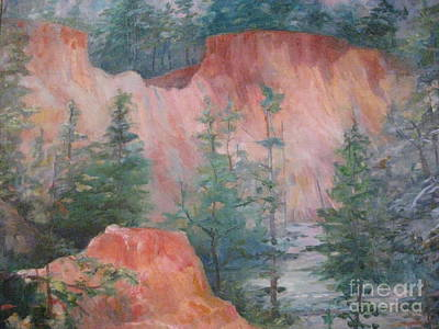 Painting - Providence Canyon 7 by Gretchen Allen
