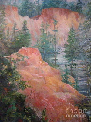 Painting - Providence Canyon by Gretchen Allen