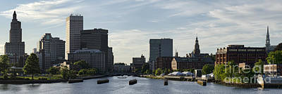Photograph - Providence Panorama I by Dave Gordon