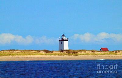 Photograph - Province Town Lighthouse by Tammy Bullard