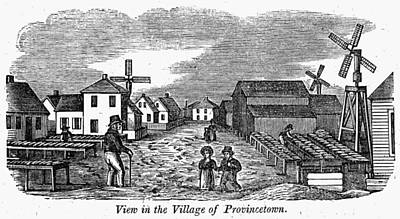 Scenic Drive Painting - Provincetown, 1839 by Granger