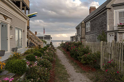 Provincetown Alley Art Print
