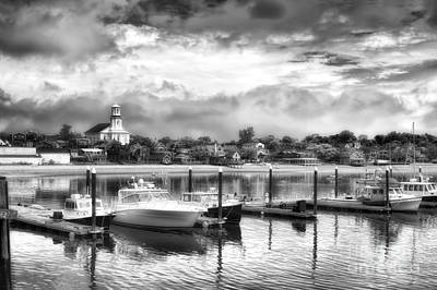 Provincetown Harbour View II Art Print by Jack Torcello