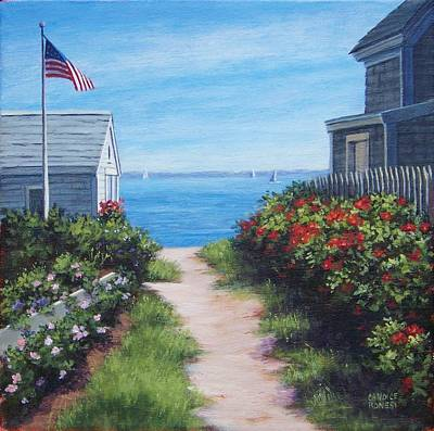 P Town Painting - Provincetown June by Candice Ronesi