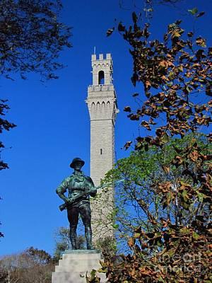 Provincetown Photograph - Provincetown Monument by Rrrose Pix