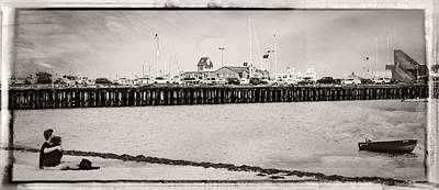Photograph - Provincetown Pier by Frank Winters