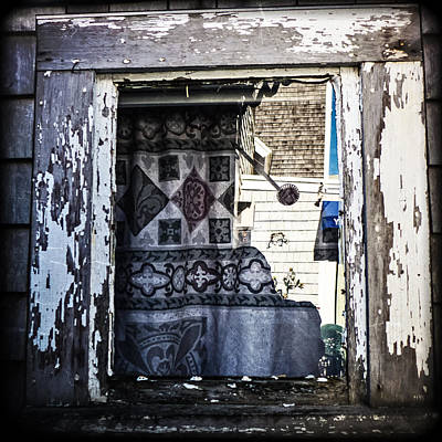 Photograph - Provincetown Window by Frank Winters