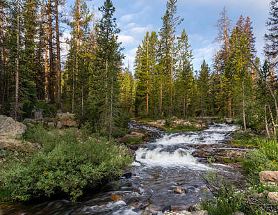 Photograph - Provo River Headwaters by Jeremy Farnsworth