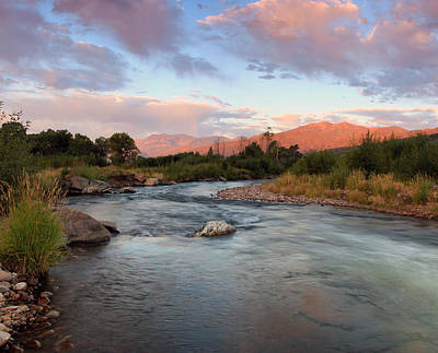 Photograph - Provo River Sunrise by Johnny Adolphson