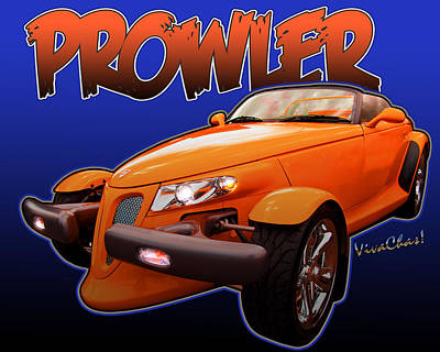 Prowler Photograph - Prowler Project Beyond 2014 by Chas Sinklier