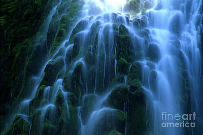 Photograph - Proxy Falls Detail 2 by Bob Christopher