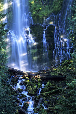 Photograph - Proxy Falls by Doug Davidson