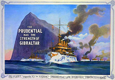 Prudential Life Insurance Poster Art Print by Charlie Ross