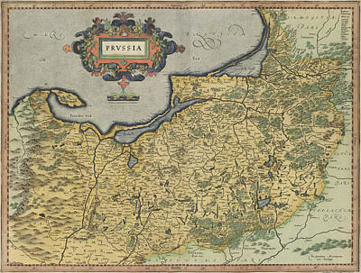 Cartography Photograph - Prussia by British Library