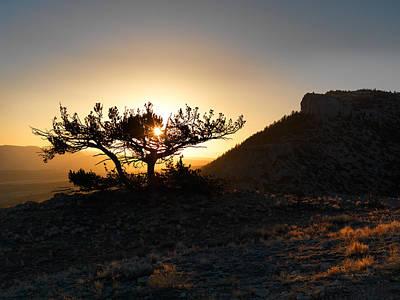 Pryor Mountain Sunrise Art Print