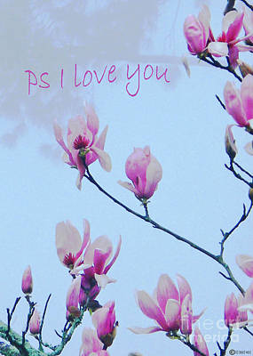 Digital Art - Ps I  Love You by Lizi Beard-Ward