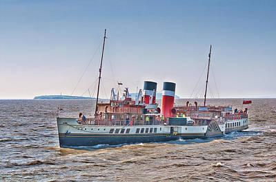 Ps Waverley Approaching Penarth Art Print