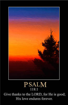 Digital Art - Psalm 118 by John Haldane