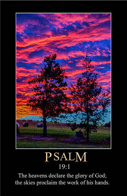 Digital Art - Psalm 19 by John Haldane