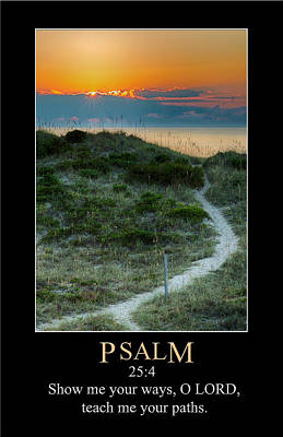 Digital Art - Psalm 25 by John Haldane