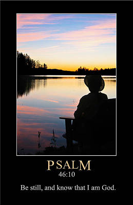 Digital Art - Psalm 46 by John Haldane