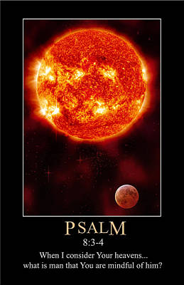Digital Art - Psalm 8 by John Haldane