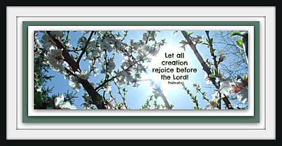 Digital Art - Psalm 96 by Christine Nichols