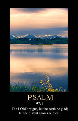 Digital Art - Psalm 97 by John Haldane