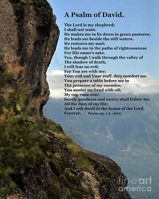 Psalm Of David Art Print by Kirt Tisdale