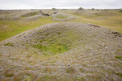 Pseudo Photograph - Pseudo Craters by Ashley Cooper